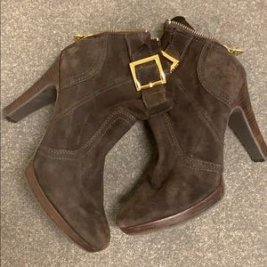 Torrey Burch Ankle Boots - Brown size 8.5
